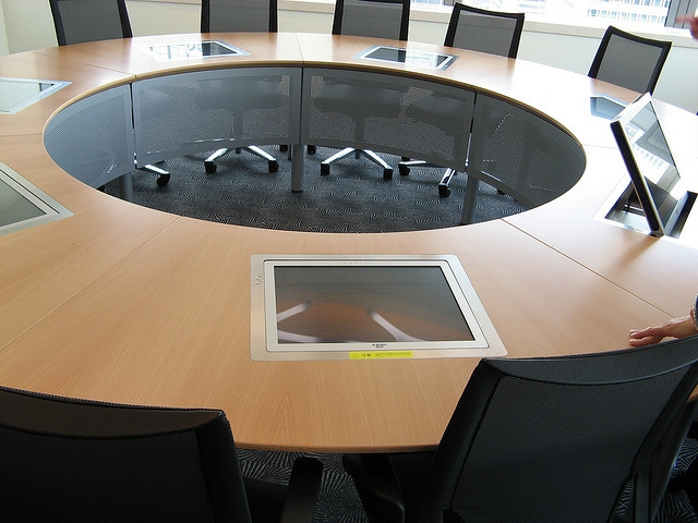 round-conference-table