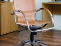 Leather Swivel Office Leather Chair
