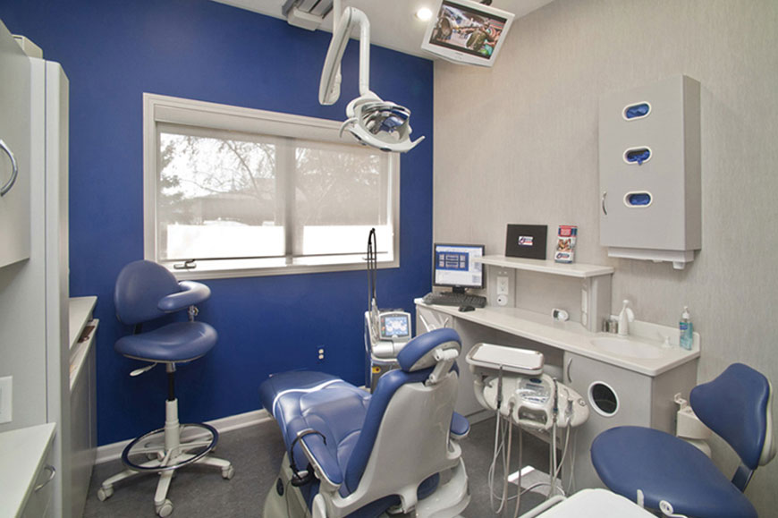 Efficient Office Layout Of Dental Interior Design