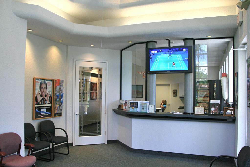 Efficient Office Layout Of Dental Interior Design