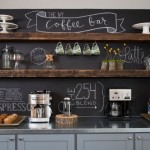chalkboard coffee