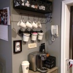 grey coffee area