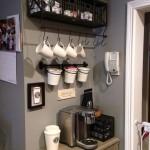 grey coffee area