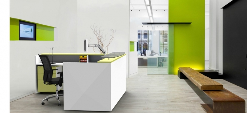 Office Design Layout Ideas With Reception Desks Office