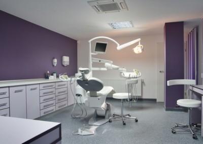 purple dental office