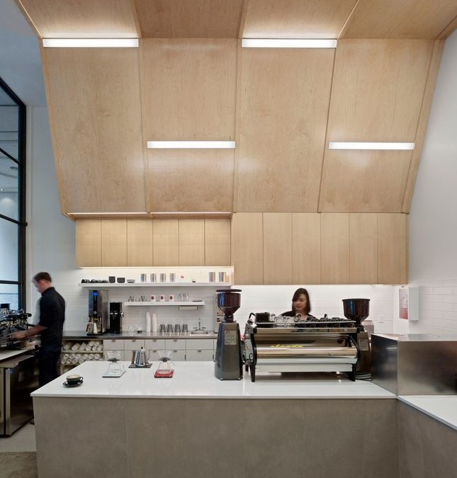 Pictures of Coffee Machines in Office Kitchens